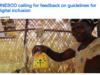 UNESCOがDigital Inclusionガイドラインにフィードバック受付中